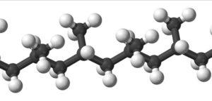 молекула полипропилена