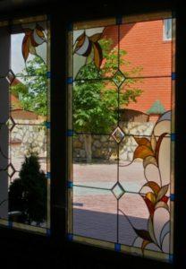 витражная пленка на окне