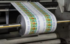 Флексопечать на пленке для упаковки кефира