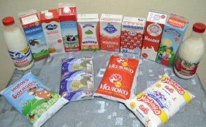 виды молочной упаковки