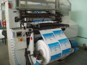 Оборудование для флексопечати на пакетах